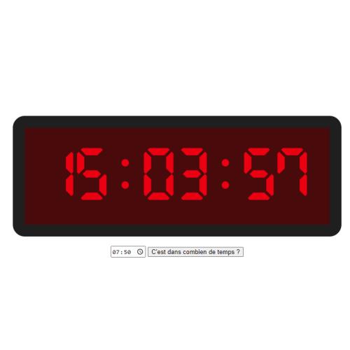 Temps restant - Image de présentation
